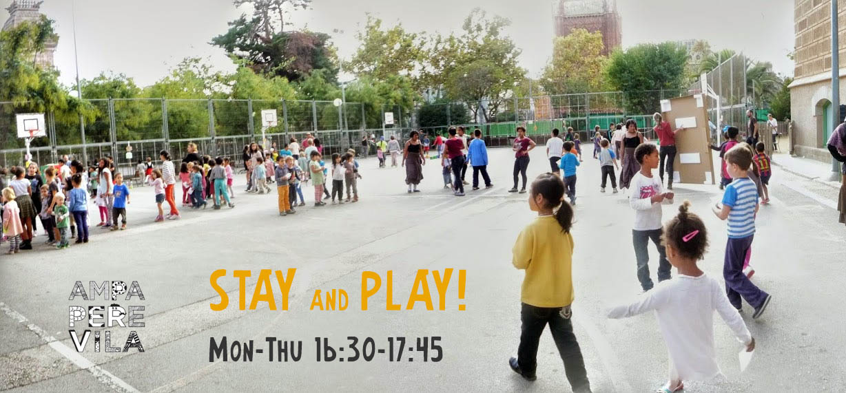 Stay and play school activities